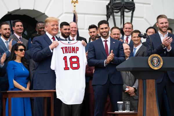 Trump Red Sox