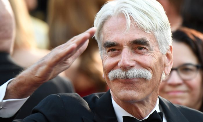 U.S. actor Sam Elliott arrives for the 91st Annual Academy Awards at the Dolby Theatre in Hollywood, California, on Feb. 24, 2019. (Getty Images | Robyn Beck)