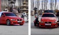 Video: Watch a BMW 3 Series Transform Into a Robot