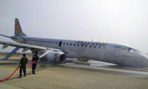 Myanmar Pilot Safely Lands Plane on Its Nose After Landing Gear Failure