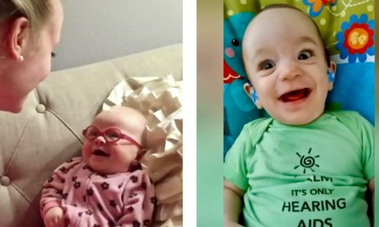 Video: The Incredible Moment Babies Hear and See Their Parents for the First Time