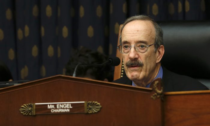 Rep. Eliot Engel (D-N.Y.), chair of the House Committee on Foreign Affairs, in Washington on May 8, 2019. (Jennifer Zeng/The Epoch Times)