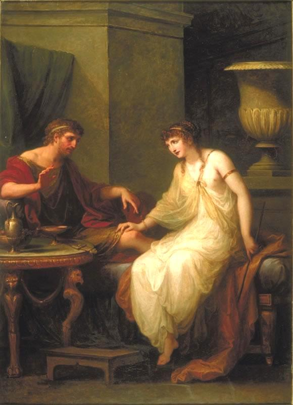 Circe and Odysseus_Kaufmann