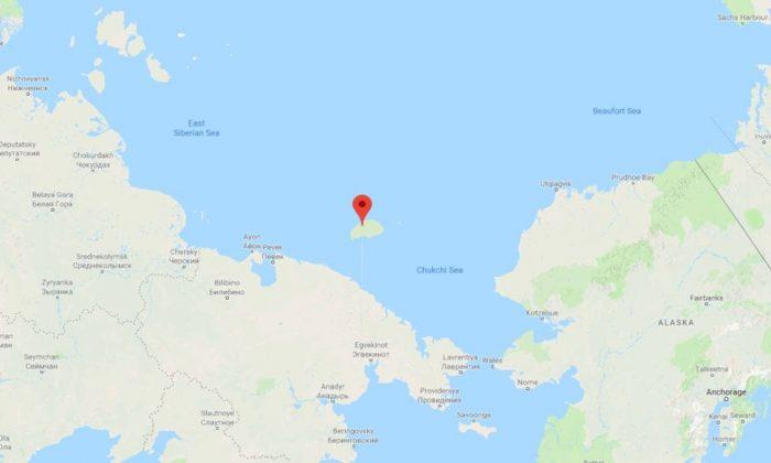 Wrangel Island (Google Maps)