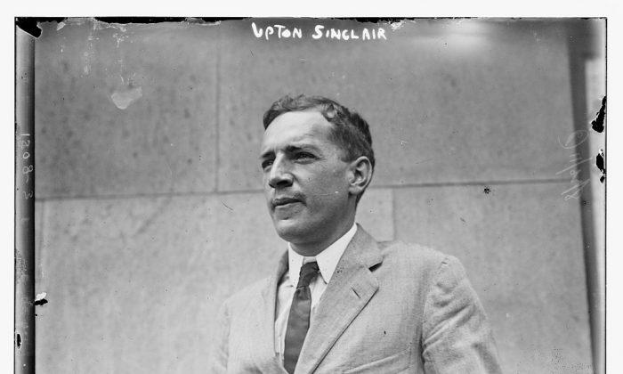 Upton Sinclair. Bain News Service, publisher [Public domain]