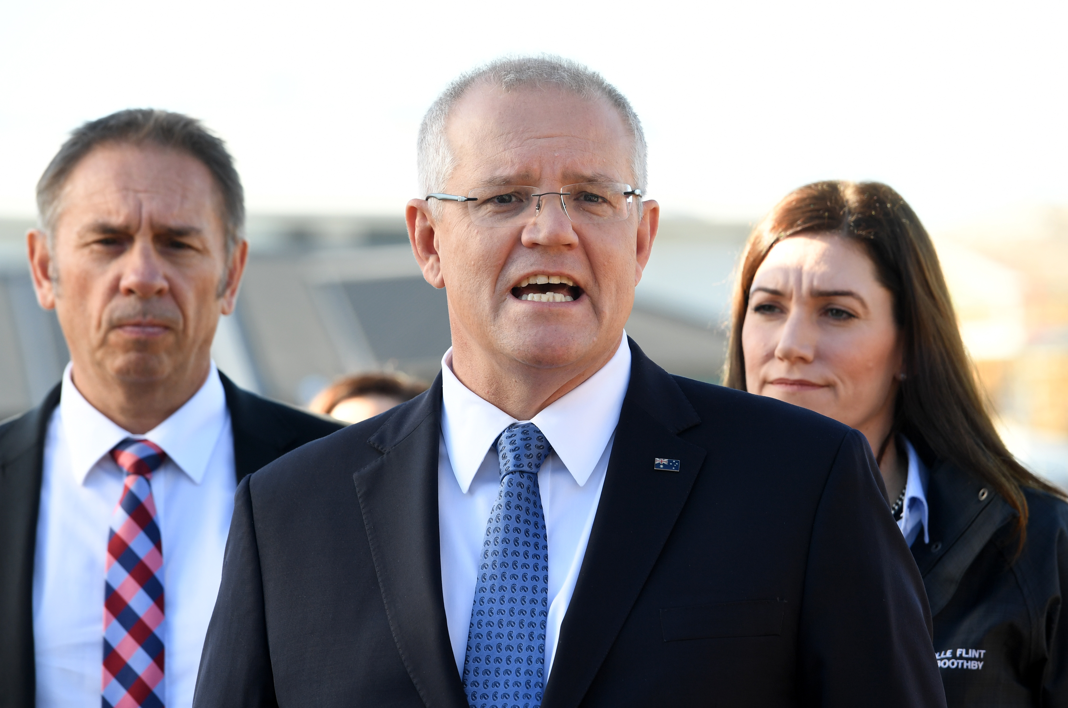 Prime Minister Scott Morrison Campaigns In Key Electorates As Election Day Nears