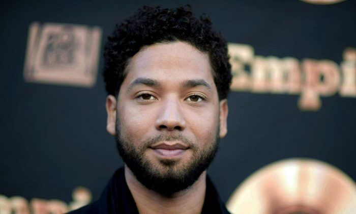 """Actor and singer Jussie Smollett attends the """"Empire"""" FYC Event in Los Angeles on May 20, 2016. (Richard Shotwell/Invision/AP)"""