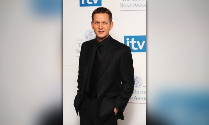 Jeremy Kyle poses at the British Soap Awards 2008 at BBC Television Centre in London, England, on May 3, 2008. (Gareth Cattermole/Getty Images)