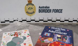 Cocaine Found in Books, NSW Man Charged