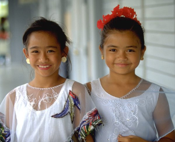 young chamorro girls