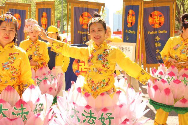 Li Mingyi, Falun Gong practitioner NYC