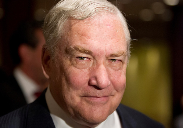 Former media mogul Conrad Black arrives at a business luncheon where he will be making a speech in Toronto, Canada June 22, 2012. (Mark Blinch/Reuters)
