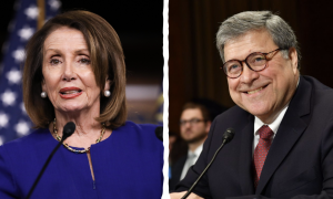 Pelosi Downplays Potential Barr Impeachment