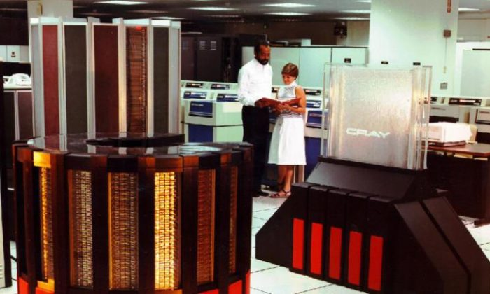 The Cray X-MP supercomputer. (CNN)