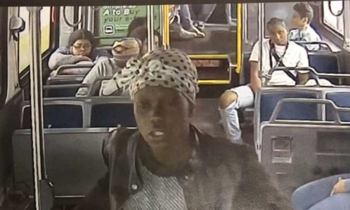 This unidentified woman is wanted in connection with the stabbing of a Milwaukee County Transit System driver in Milwaukee, Wisconsin, on May 15, 2019. (Milwaukee Police Department)