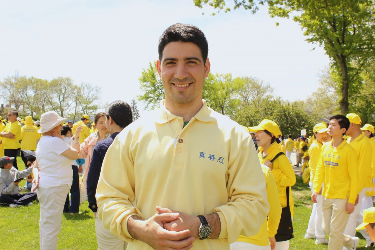 Joseph Gigliotti, Falun Gong practitioner