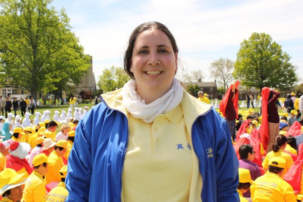 Myriam Orso, Falun Gong practitioner