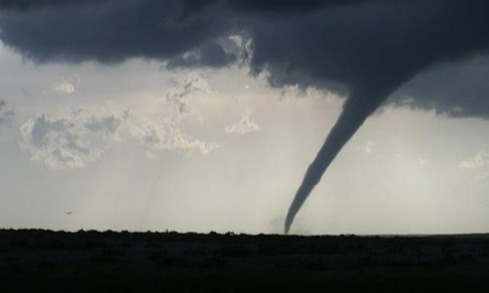 Tornado in Oklahoma on May 18. (KOCO via CNN)