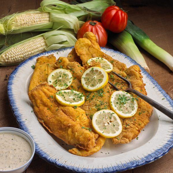 Cornmeal Fried Catfish