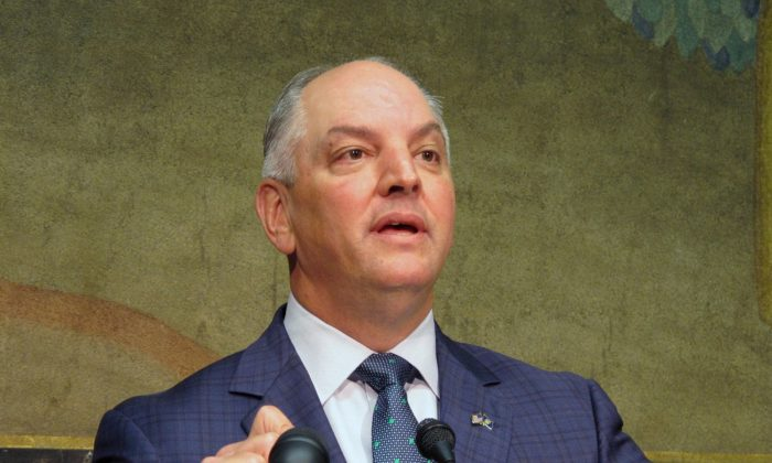 Gov. John Bel Edwards on Sept. 20, 2018. (Melinda Deslatte/File photo via AP)