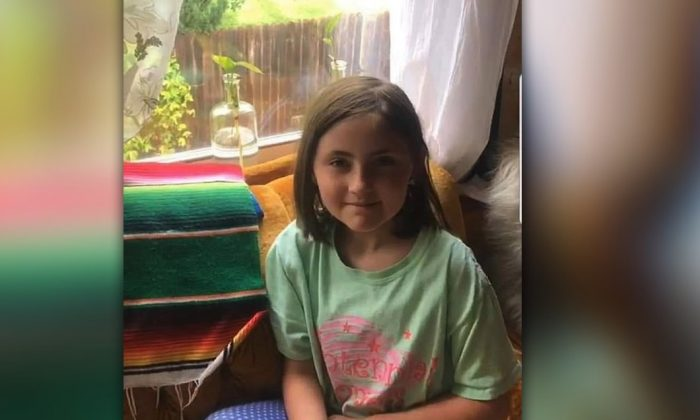 Fort Worth 8-year-old Salem Sabatka has been found safe after an Amber Alert was issued for the girl, who was kidnapped while on a walk with her mother in Fort Worth, Texas, on May 18, 2019. (Fort Worth Police)