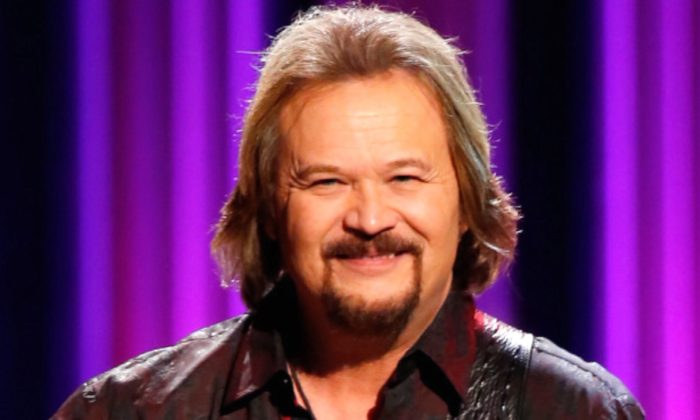 Singer-songwriter Travis Tritt performs onstage at The Grand Ole Opry in Nashville, Tennessee, on Oct. 8, 2018. (Frederick Breedon IV/Getty Images)