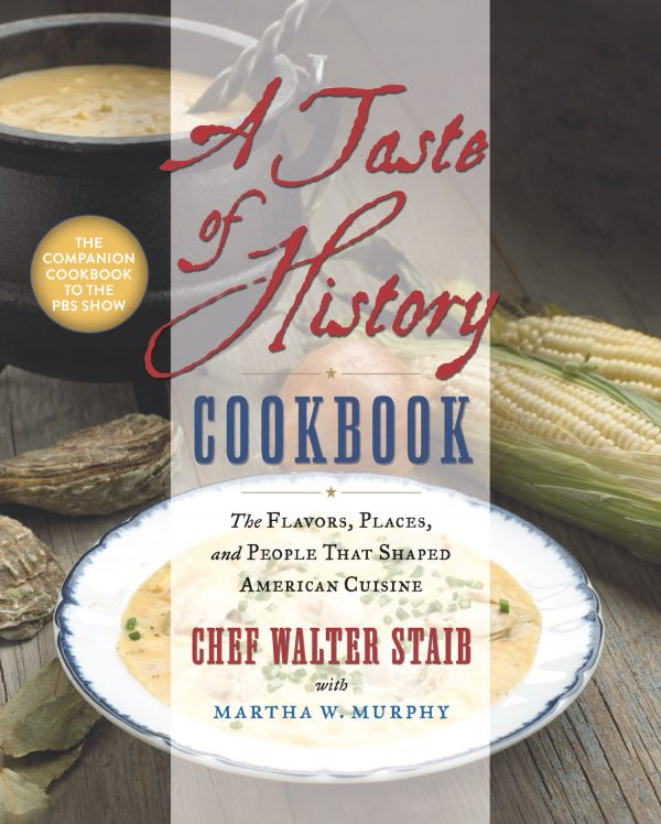a taste of history cookbook cover