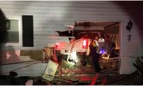 Police: Driver Flees Accident, Leaving 71-Year-Old Trapped Under Pickup in Her Bedroom