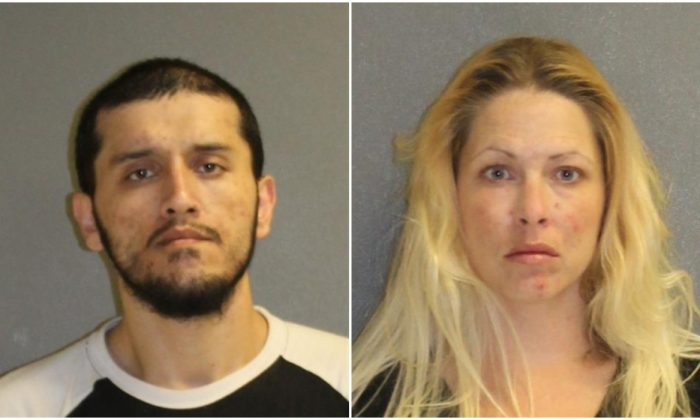 Gregory Dushan and Jessica Henry. (DeLand Police)