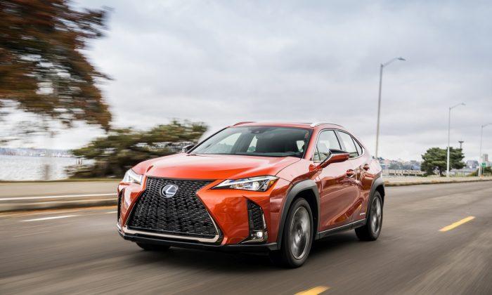 2019 Lexus UX in Cadmium Orange. (Courtesy of Lexus)