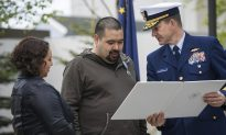 Alaska Man Given Coast Guard Medal Years After Girl's Rescue