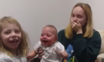 Mom Tells Baby Girl 'I love you,' Her Response Has the Internet Cracking Up