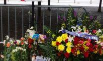 Boy Spots Photo of Fallen Cop at Makeshift Memorial, Returns to Lay a Heartfelt Note