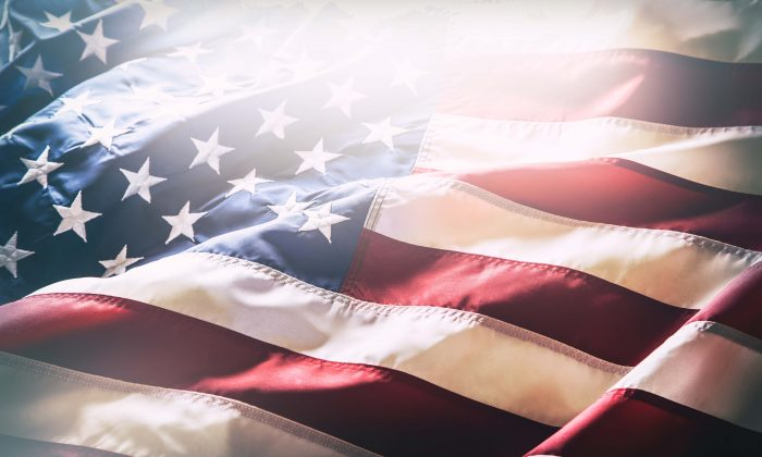 Stock photo of an American flag. (Shutterstock)
