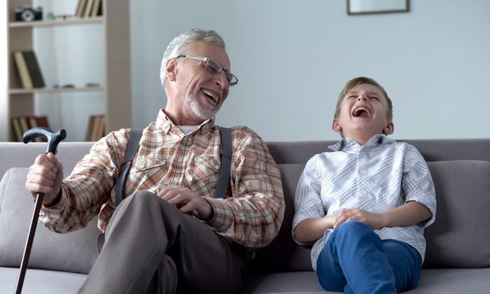 Tell your grandchildren stories from your life; they will relish them. (Motortion Films/Shutterstock)