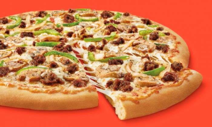 Little Caesars Impossible Pizza. (CNN)