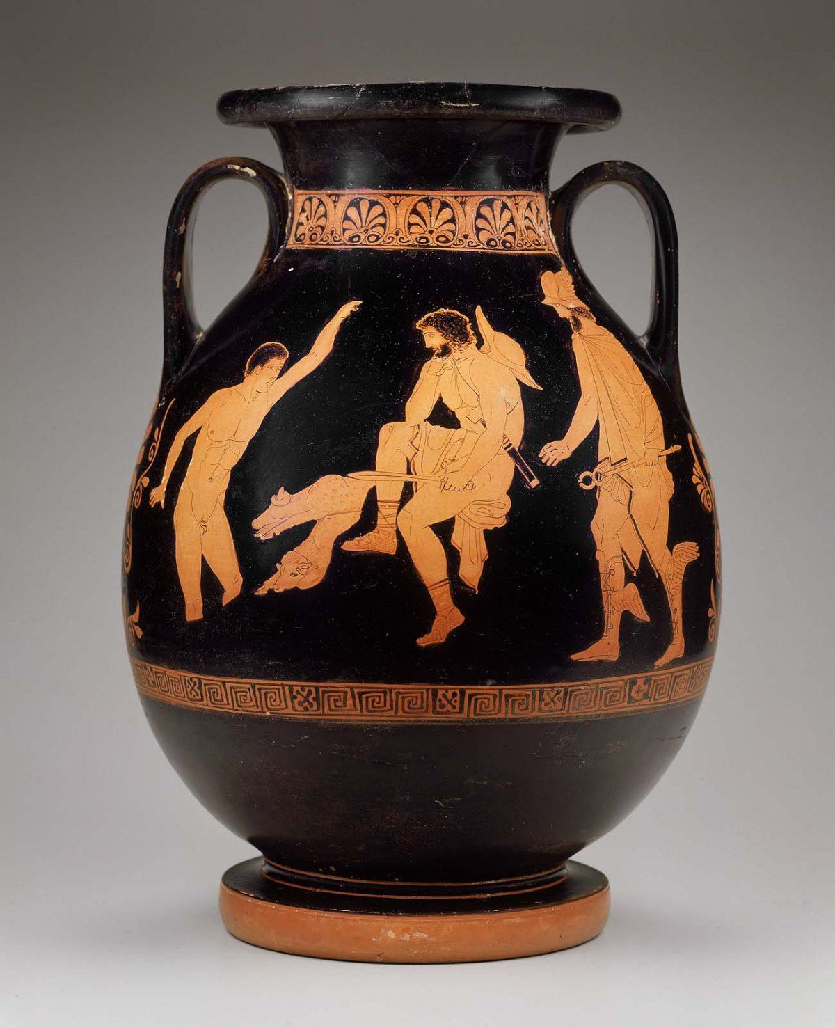 elpenor and Odysseus