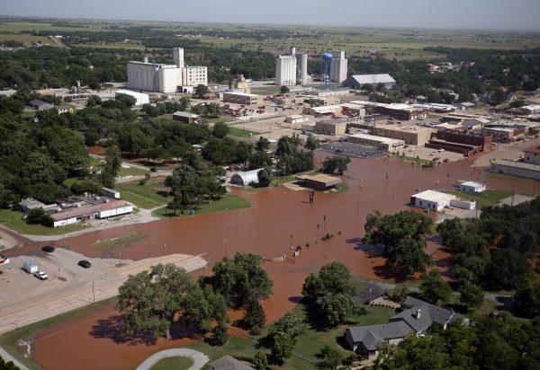 Flooding in Kingfisher, Okla.