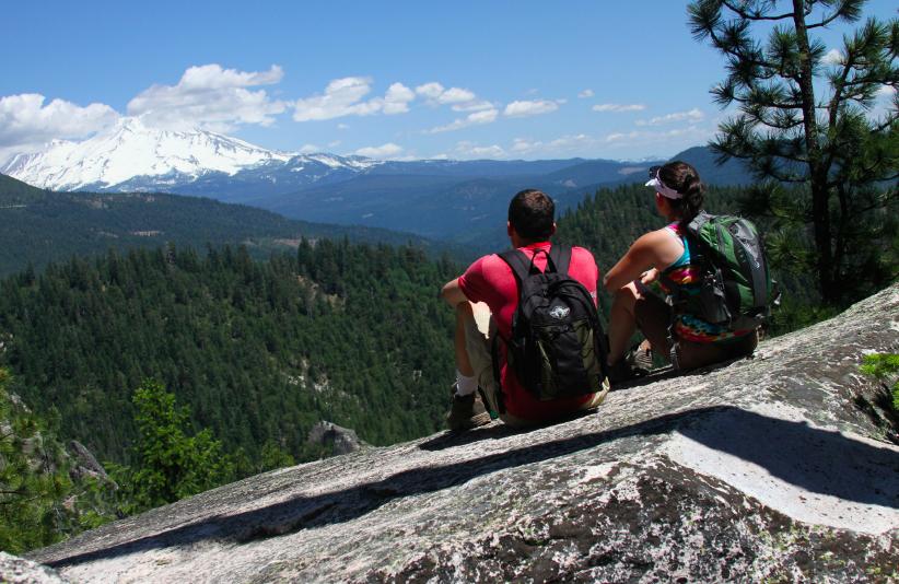 hikers northern california