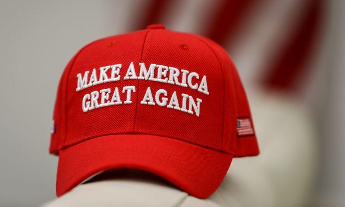 A Make America Great Again (MAGA) hat, on Jan. 22, 2019. (Samira Bouaou/The Epoch Times)