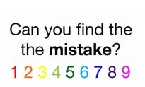 Can You Spot the Mistake in Less Than Five Seconds? Brain Teaser Challenges Puzzle Fans