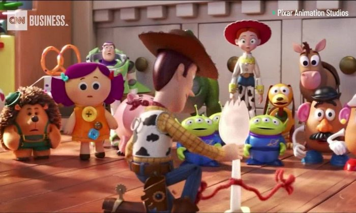 "We're just one month away from ""Toy Story 4"" and Pixar has dropped a new trailer with yet another new character, on May 21, 2019. (Pixar Animation Studios)"