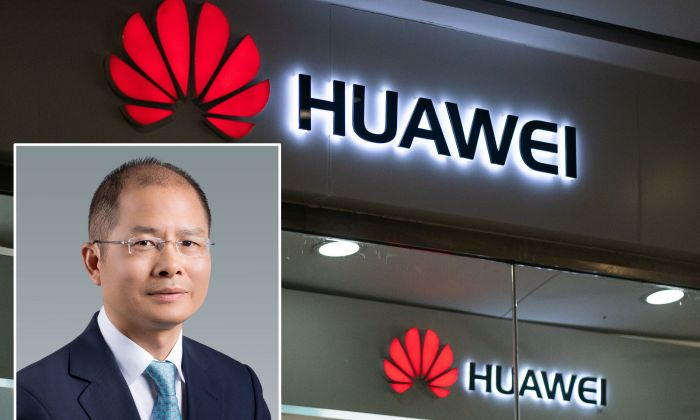 Eric Xu, a Huawei executive, is accused in a conspiracy to steal trade secrets in the United States. (FRED DUFOUR/AFP/Getty Images, Huawei website)