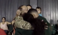 Afghanistan Veteran Surprises Son at College Graduation