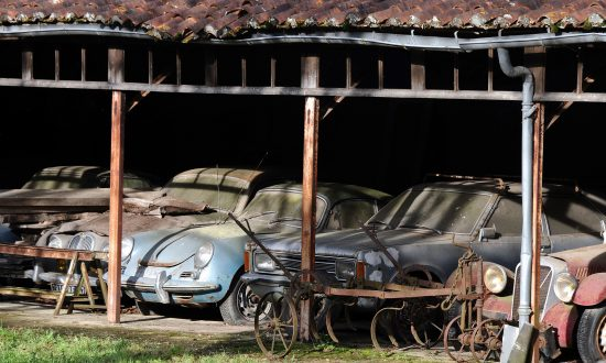 60 Rare Vintage Cars Worth $28.5 Million Found 'Parked' in French Farm After 50 Years