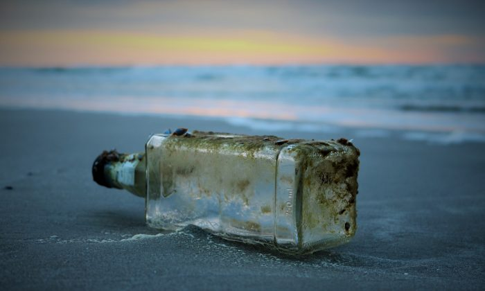 Man Finds Cremated Remains With Message In A Bottle On
