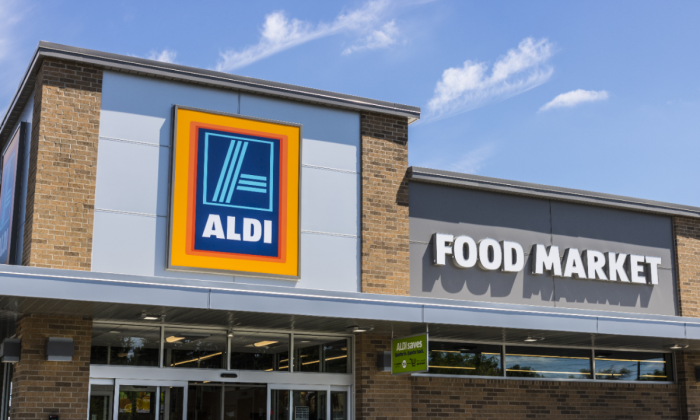 Aldi food market in Indianapolis, Indiana in a file photo. (Jonathan Weiss/Shutterstock)