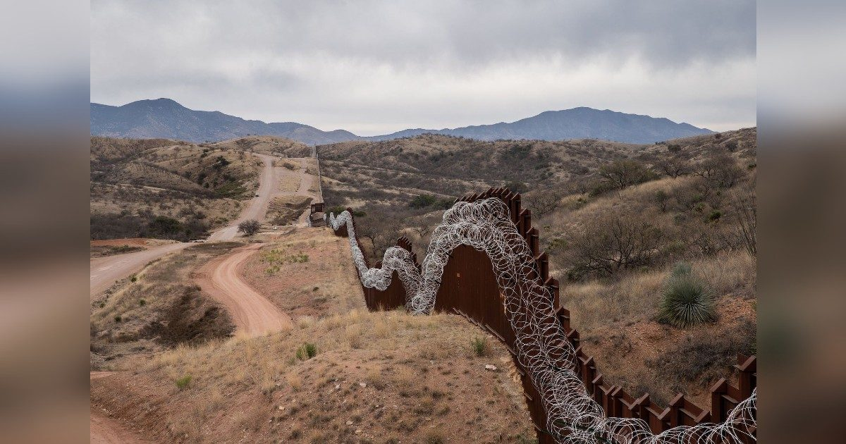 US-Mexico Border Wall 2