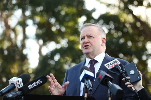 Anthony Albanese Labor Australia