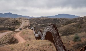 Border Sheriff Says Biden Halting Border Wall Construction Left Area Open for Cartels
